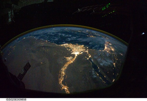 View of Nile Valley from Space