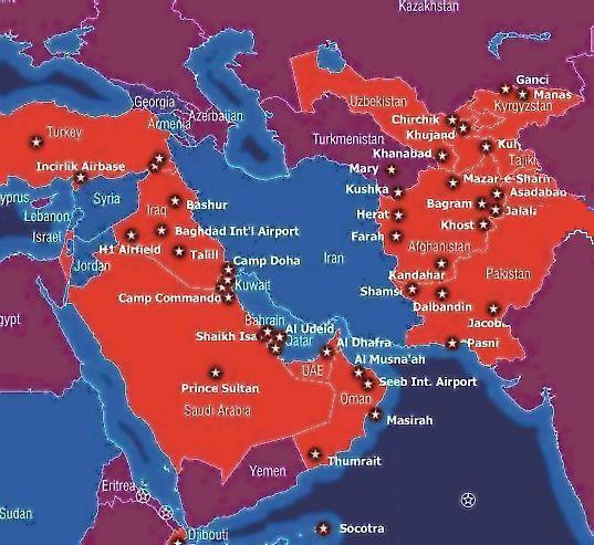US bases Middle East
