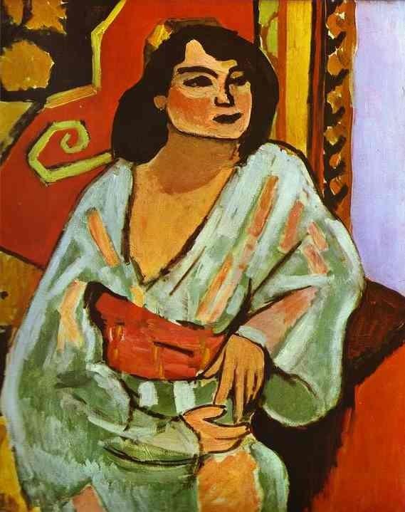 Matisse - Algerian Woman