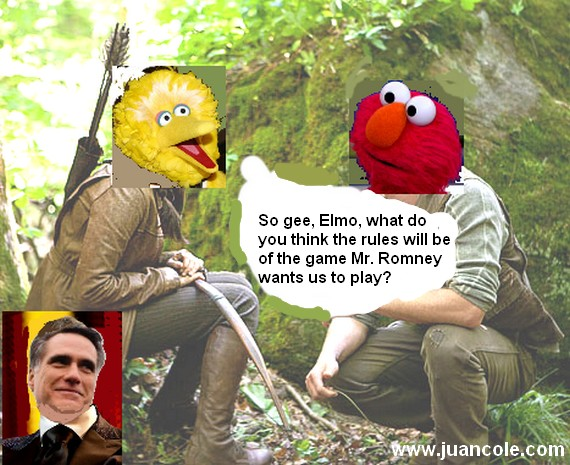 Big Bird and the Romney Games