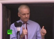 Assange Demands end of US War on Whistleblowers