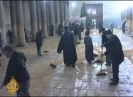 Christian Priests Brawl at Jesus' Birthplace