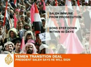 Saleh again Defies US, GCC, refuses to Go