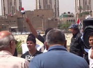 Iraqi Youth Demonstrate against Sectarianism, in Favor of National Unity  (Video by Cole)
