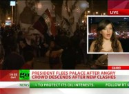 "Egypt: 100,000 Demonstrators Deliver ""Final Warning,"" chase President Morsi from Palace"
