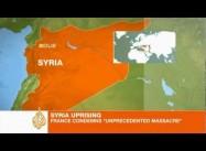 Massacre alleged in Syria