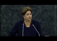 President Dilma Rousseff of Brazil at UN delivers Stinging Rebuke to Obama on NSA Spying (Lazare)