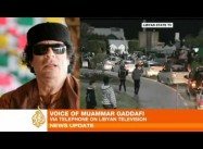 Qaddafi invokes Phony Al-Qaeda Threat as he Massacres Protesters