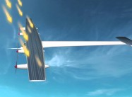 Solar Plane flies from Spain to Morocco, then into Morocco's rugged Interior