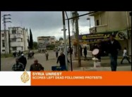 Syrian Security fires on Protesters, Kills 90