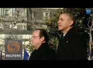 Obama & Hollande stress Hope for Iran Breakthrough
