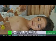 Gaza's Children Trapped by Israeli Airstrikes, Naval Bombardment, over 20 Dead
