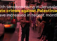 Palestinians Under Threat In Jerusalem