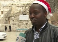 Victim of Apartheid Wall:  Christmas in Isolated Bethlehem