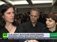 Snowden Reacts as Documentary about his Leaks wins Oscar