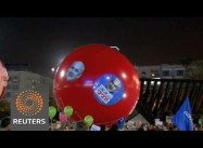Tel Aviv: Tens of Thousands Rally against Netanyahu