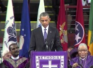 A Black President Eulogizes a Black Reverend and State Senator Slain for Being Black