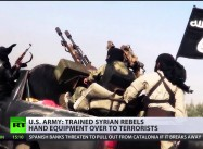US-trained Syria rebels gave weapons to al-Nusra Islamists, Pentagon confirms