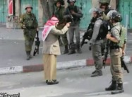 Elderly Palestinian man confronts Israeli soldiers over shooting at Youth, before collapsing