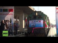 The Chinese are Coming: First 'New Silk Road' Train reaches Iran's Capital