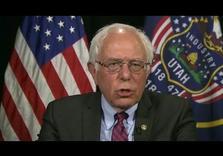 Bravest man in Politics:  Bernie Sanders harshly criticizes Israeli Occupation: 'Absurd' Settlements, 44% Unemployment