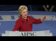 Hillary Clinton goes full Neocon at AIPAC, Demonizes Iran, Palestinians
