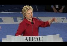 Hillary Clinton goes full Neocon at AIPAC, Demonizes Iran, Palestinians