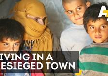 Syrian Family Talks About Living In Besieged Town (AJ+)