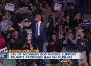 Young American Muslim Protesting Trump Racism ejected from Rally in Style