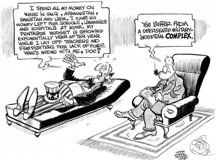 Cartoon by OtherWords.org