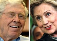 It's Possible: Koch Brother Says Hillary Clinton Might Be Best Choice for Him