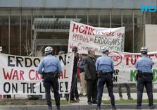 Turkey's Erdogan exports Press crackdown to US as his guards manhandle Journalists in DC