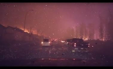 Wildfire:  Syrian Refugees in Canada Donating to help climate Refugees
