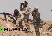 Syrian Gov't Troops enter ISIL-held al-Raqqa Province, racing against US Allies