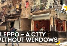 Why doesn't Syria's biggest city have any Windows?