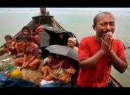 Buddhist Mob Burns Down a Muslim Mosque in Myanmar Village