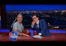 GOP Convention Roundup:  Jon Stewart Resurfaces on Colbert's Late Show