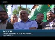 Palestinian FM asks Arab League to help sue UK over Balfour Declaration