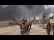 ISIL sends families out of Mosul as Kurdish, Shiite Forces advance