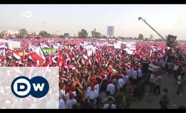 "Saudis bomb Sanaa during ""Million-Person march"""