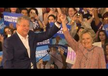 Clinton brings back Gore, talks Green, but still Opposes Carbon Tax