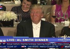 Hillary Clinton Roasts Donald Trump At 2016 Al Smith Dinner