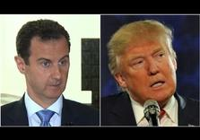 "Syria's al-Assad:  Trump ""a natural ally"""