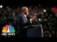 Obama's Farewell Address:  Racial Discrimination a Challenge Ahead