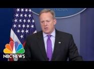 Spicer: Trump can Criticize Iraq War but no one can Slam Trump's Yemen Raid