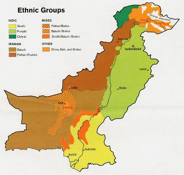 Pakistan Ethnic Groups