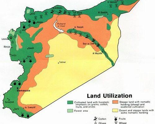 Map: Syria Land Use