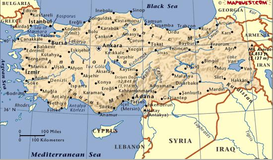 Maps Informed Ment: Map Iran Turkey At Infoasik.co