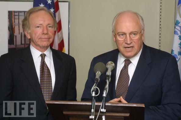 Lieberman and Cheney