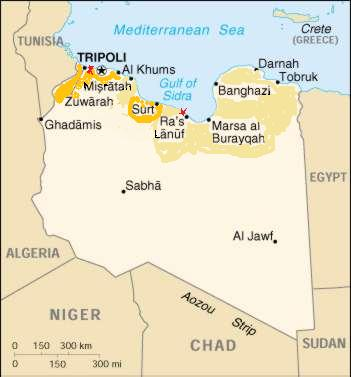Divided Libya